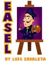 EASEL by Luis Zavaleta (Instant Download)