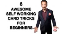 SIX AWESOME - EASY - SELF WORKING - CARD TRICKS FOR BEGINNERS